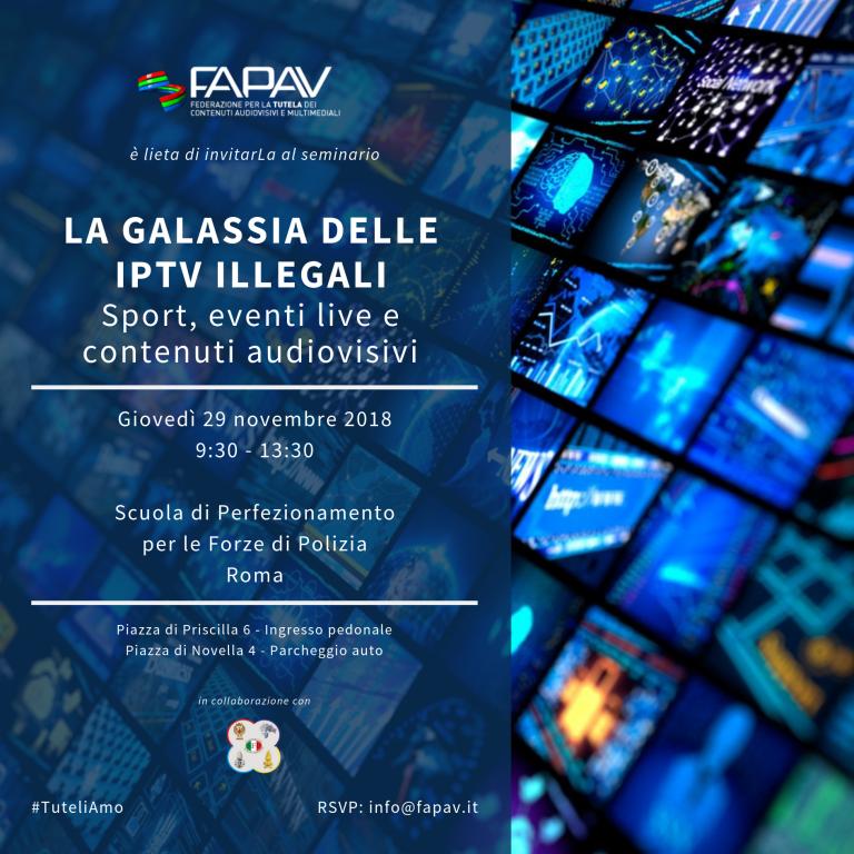 LA GALASSIA DELLE IPTV ILLEGALI - Evento