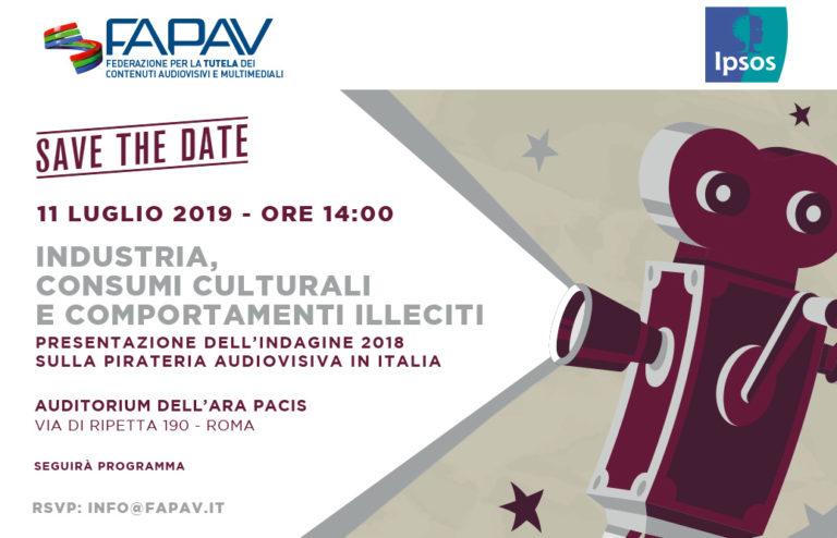 SaveTheDate_FAPAV_Ipsos_11.07.2019_14.00_Roma