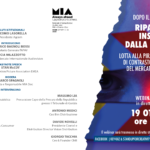 """PROGRAMMA SOCIAL: WEBINAR """"DOPO IL LOCKDOWN - RIPARTIRE INSIEME DALLA LEGALITA'"""" (19.10.20 ORE 15:00)"""