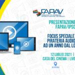 EVENTO FAPAV/Ipsos 2021 - Focus Speciale Lockdown